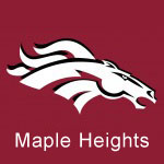 Maple Heights Senior Day 2018