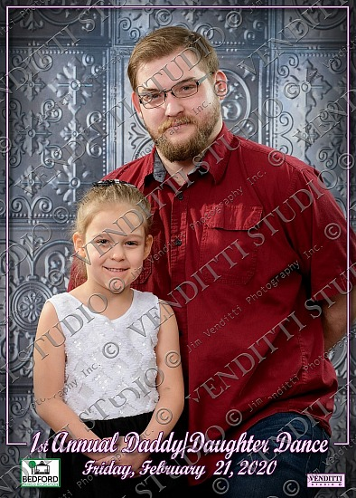 Bedford Recreation Daddy-Daughter Dance 2020